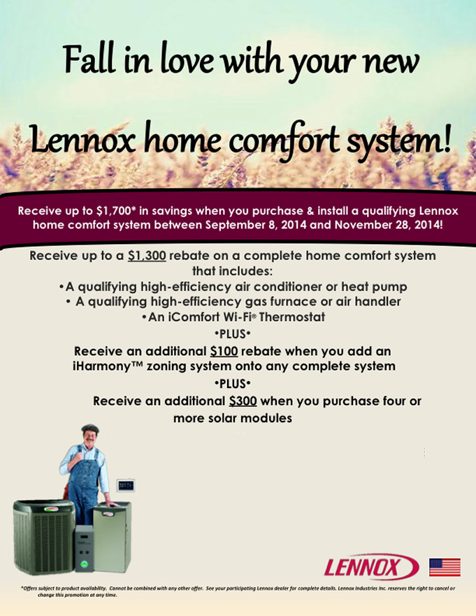 Lennox Home Comfort System