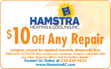 Specials Hamstra Heating Cooling Inc