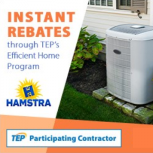 Instant rebates through TEP's Efficient Home Program